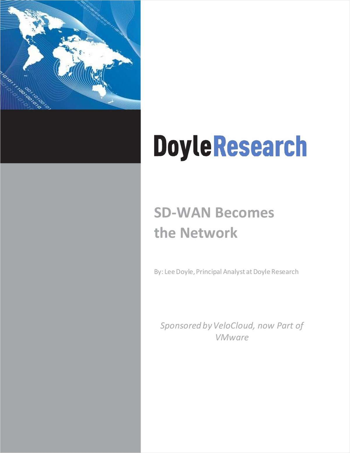 SD-WAN Becomes the Network Free White Paper