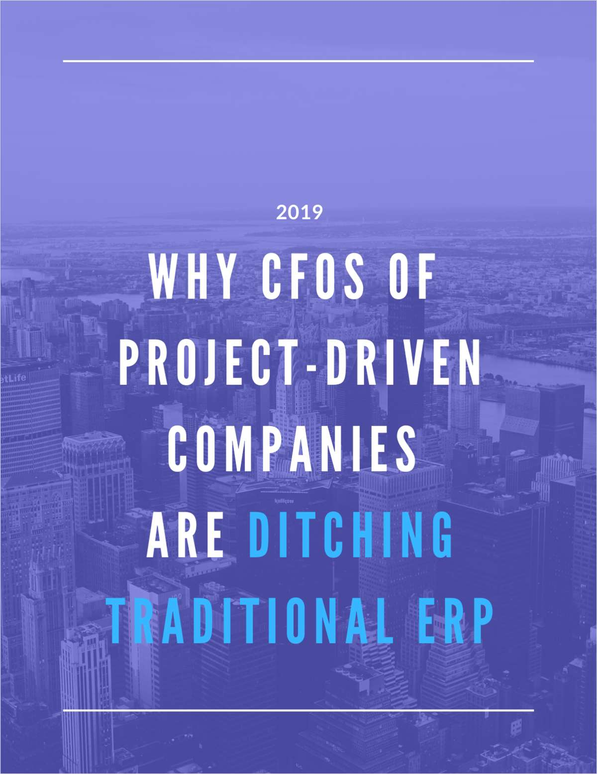 Why CFOs of Project-Driven Companies Are Ditching Traditional ERP