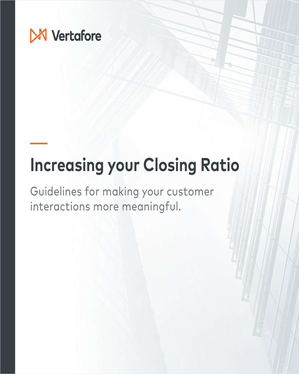 Increasing Your Closing Ratio: Guidelines for Making Your Customer Interactions More Meaningful