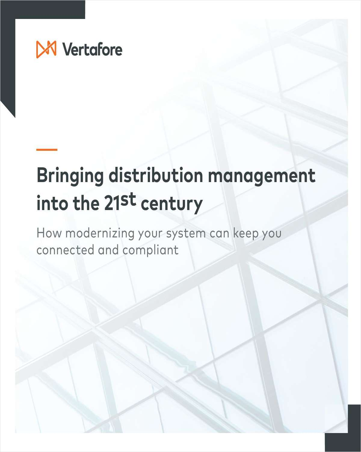 Bringing distribution management into the 21st century: How modernizing your system can keep you connected and compliant