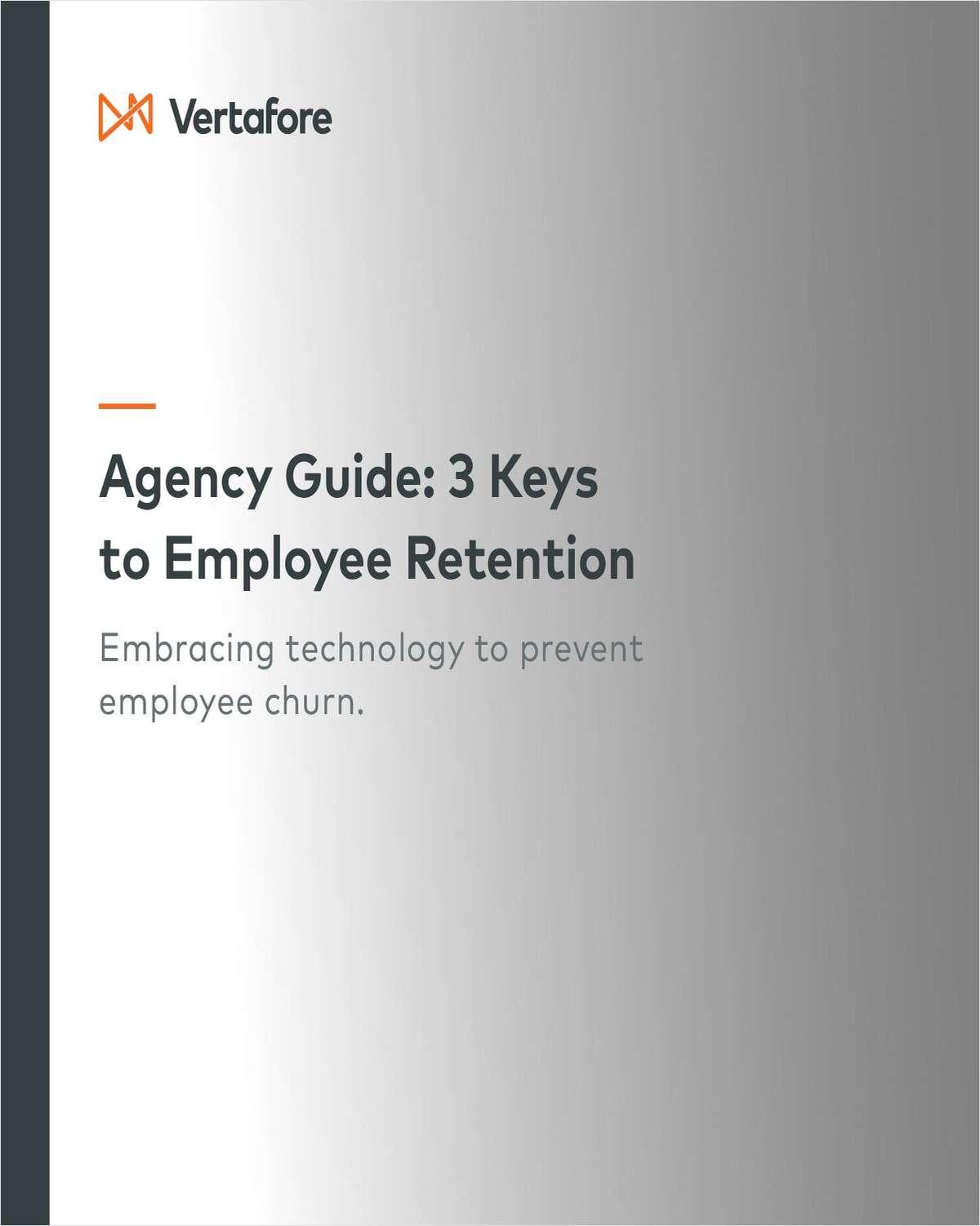 Agency Guide: 3 Keys to Employee Retention