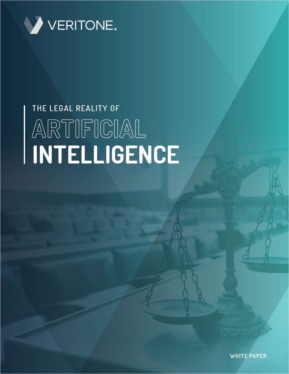 The Legal Reality of Artificial Intelligence