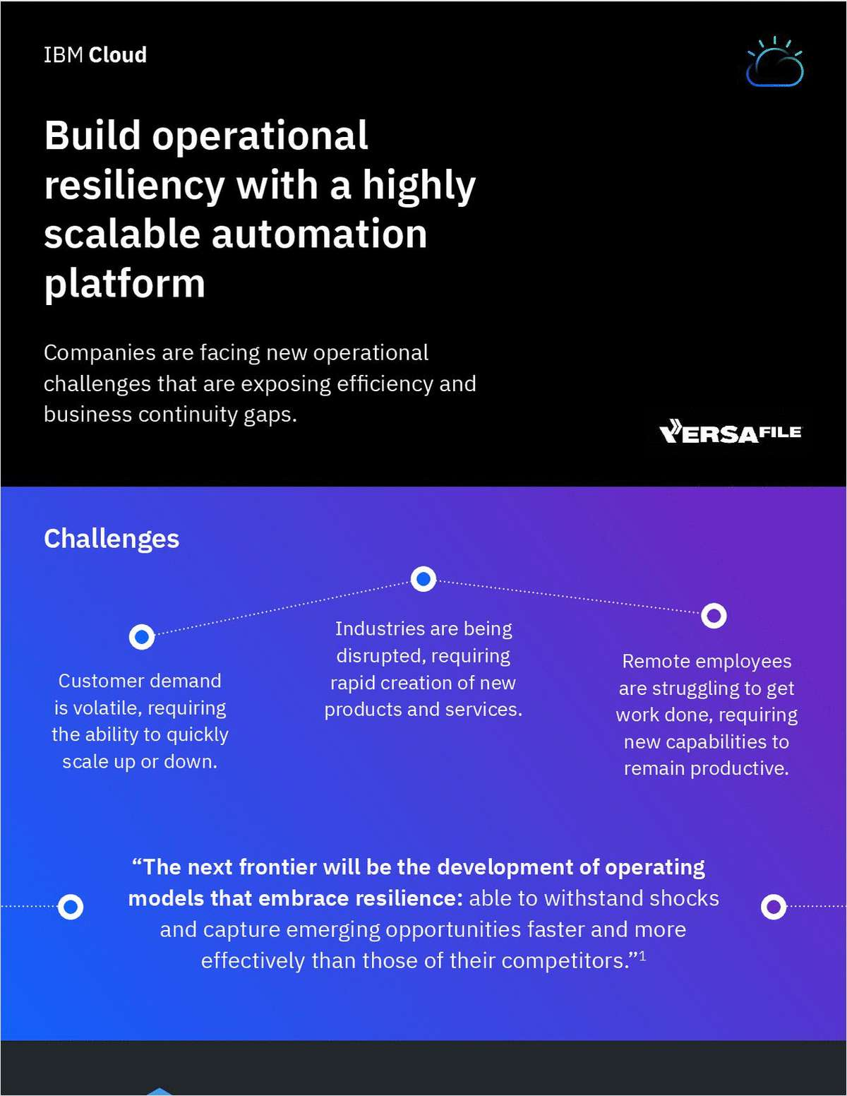 Build operational resiliency with a highly scalable automation platform