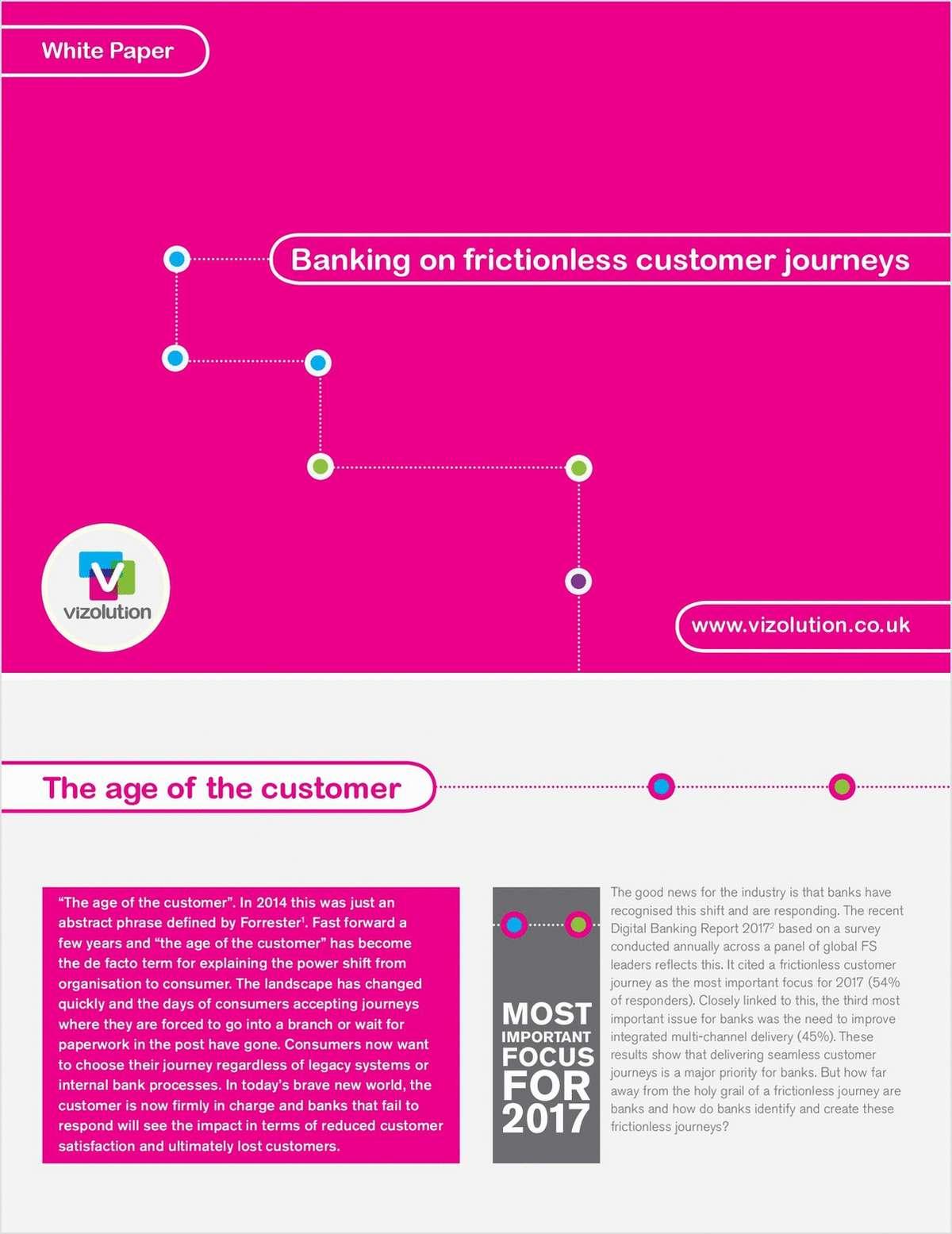 Banking on Frictionless Customer Journeys - UK