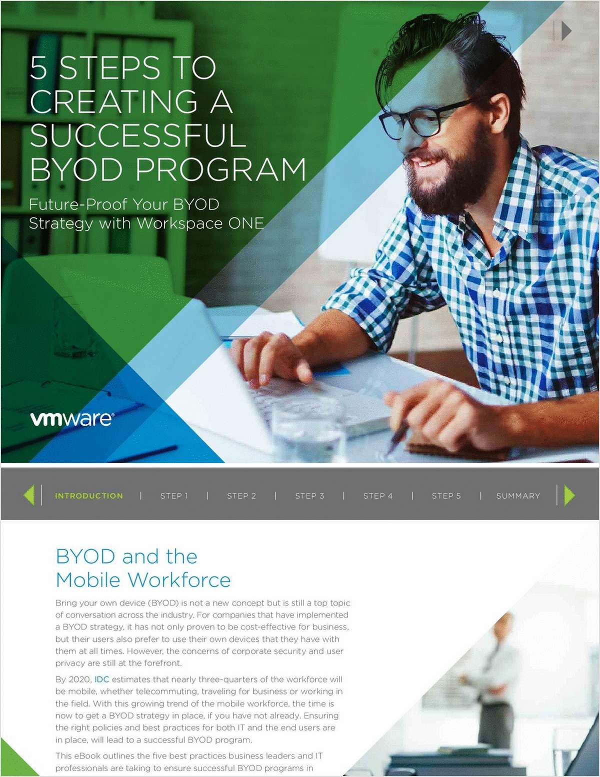 5 Best Practices for a Successful BYOD Strategy, Free VMware