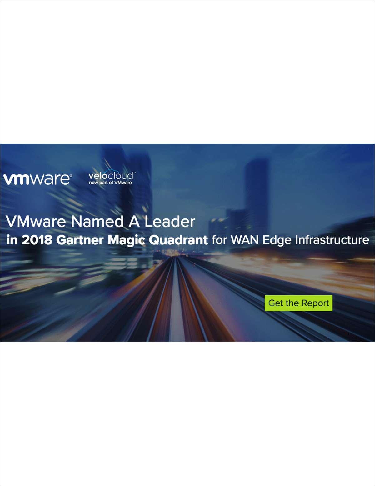Gartner Magic Quadrant 2018 WAN Edge Infrastructure, Free