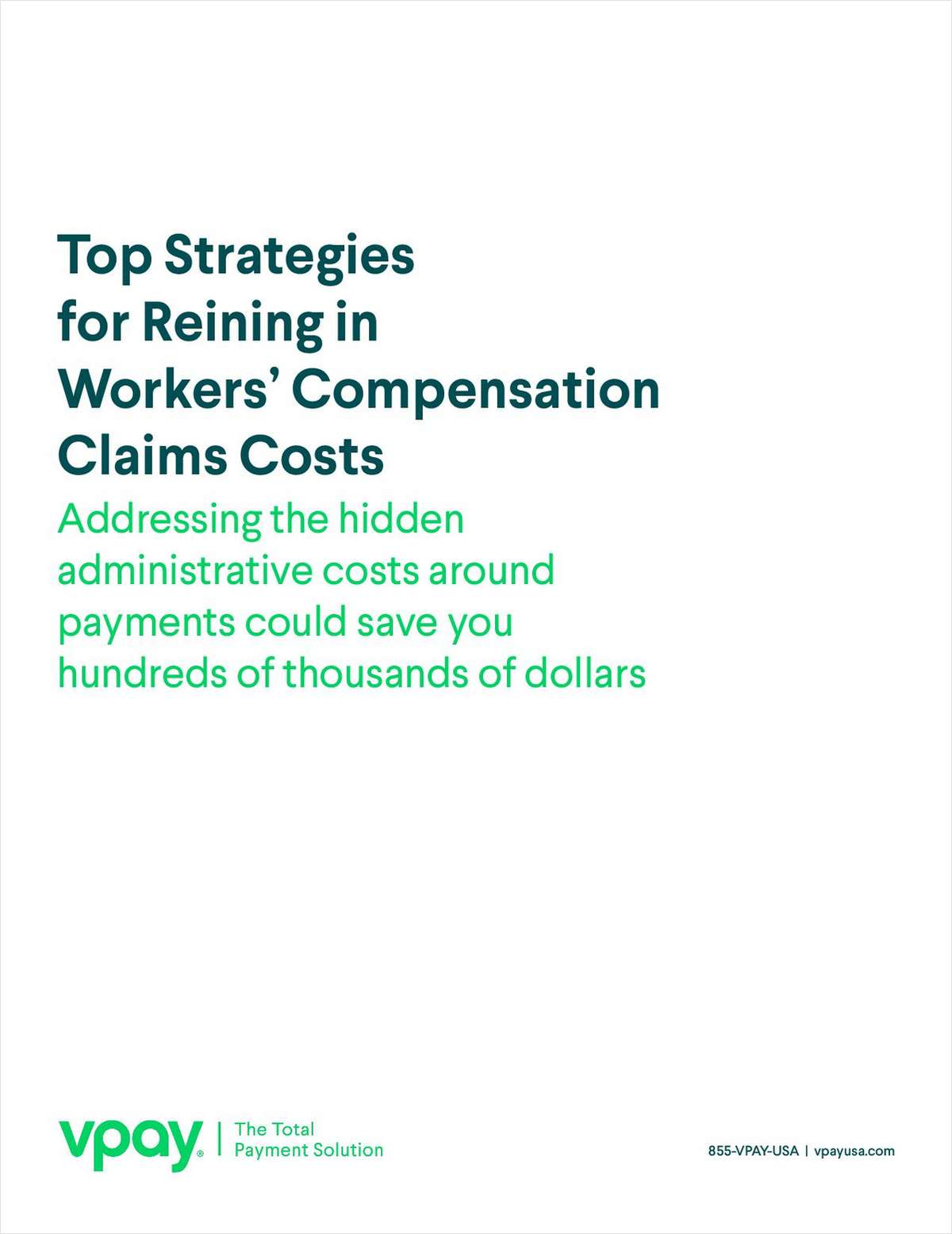 Top Strategies for Reining in Workers' Compensation Claims Costs
