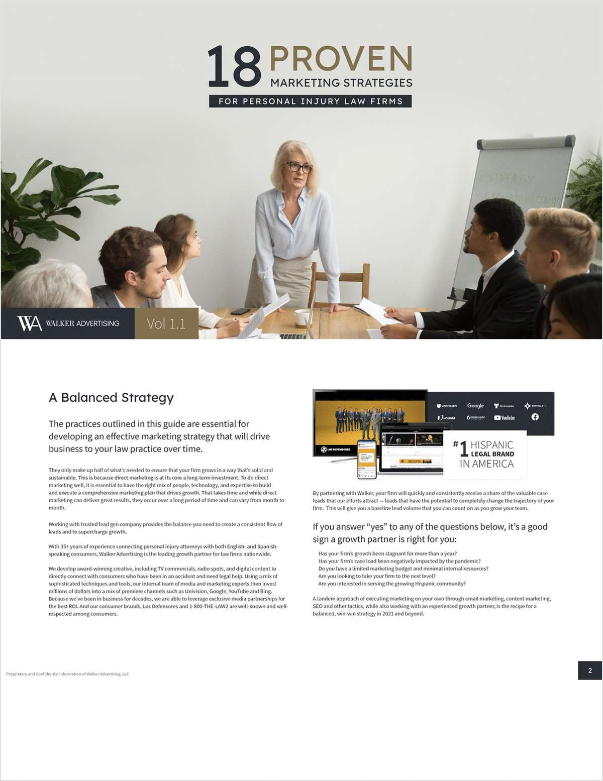 Personal Injury Law Firm Marketing: 18 Proven Strategies For 2021