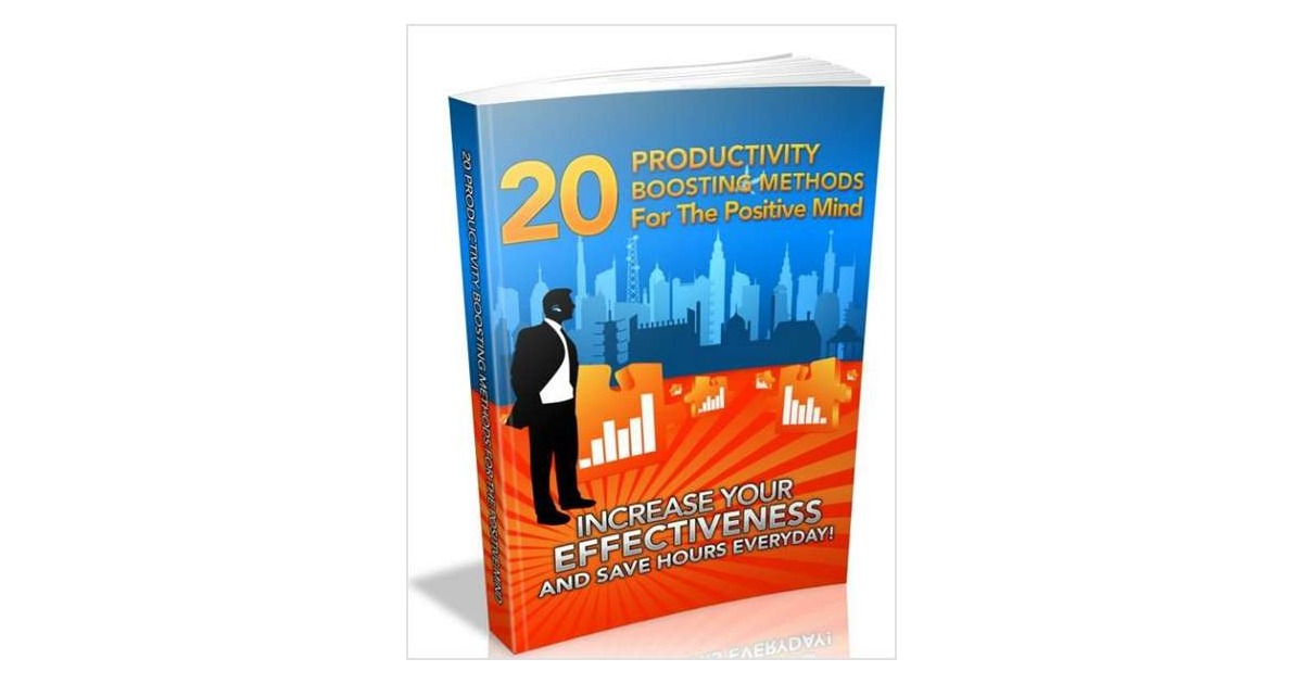 20 Productivity Boosting Methods for the Positive Mind, Free Web Design Imagineers eBook