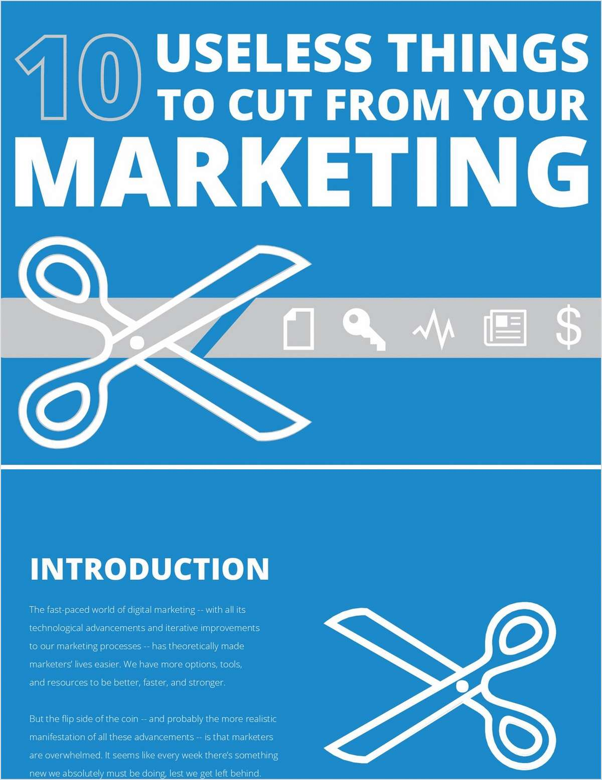 10 Useless Things To Cut From Your Digital Marketing Budget Right Now