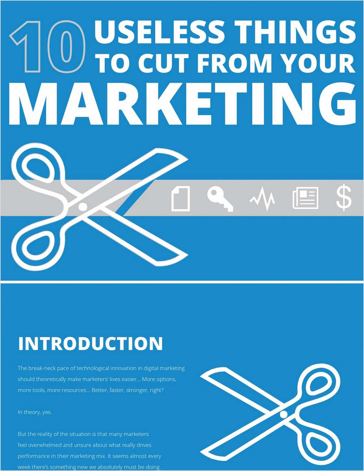 10 Useless Things To Cut From Your Digital Marketing Budget in 2017