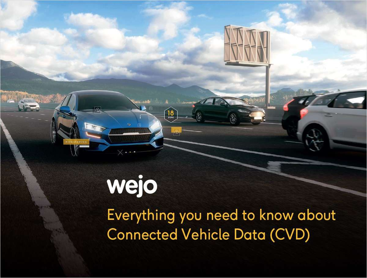 Connected Car Data 101   Data-Driven Mobility