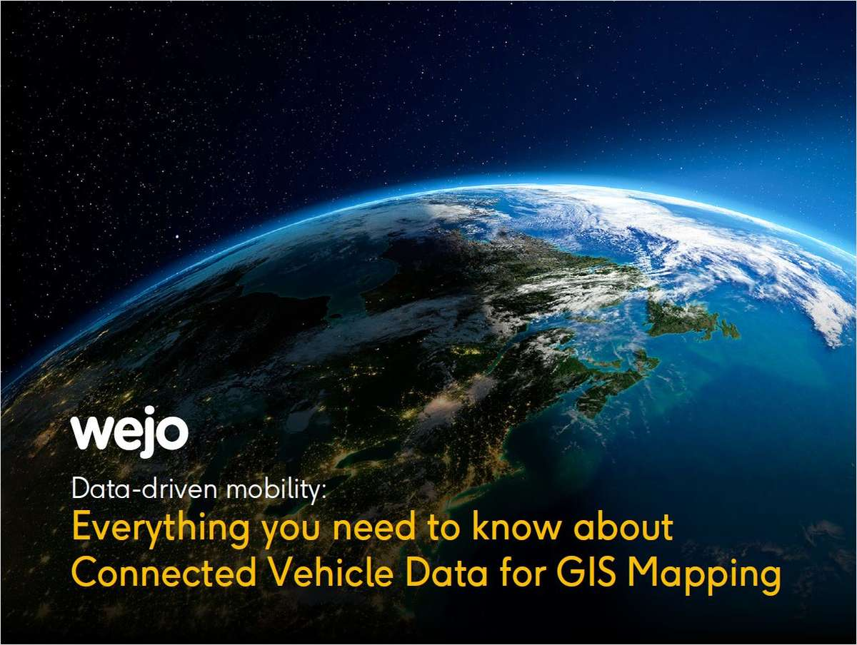 Connected Vehicle Data | Geographic Information System (GIS) Map Data