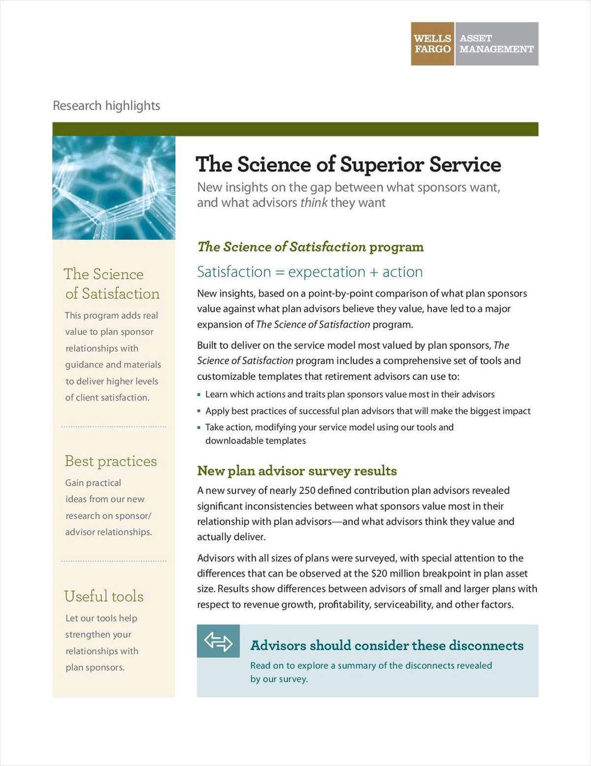 The Science of Superior Service