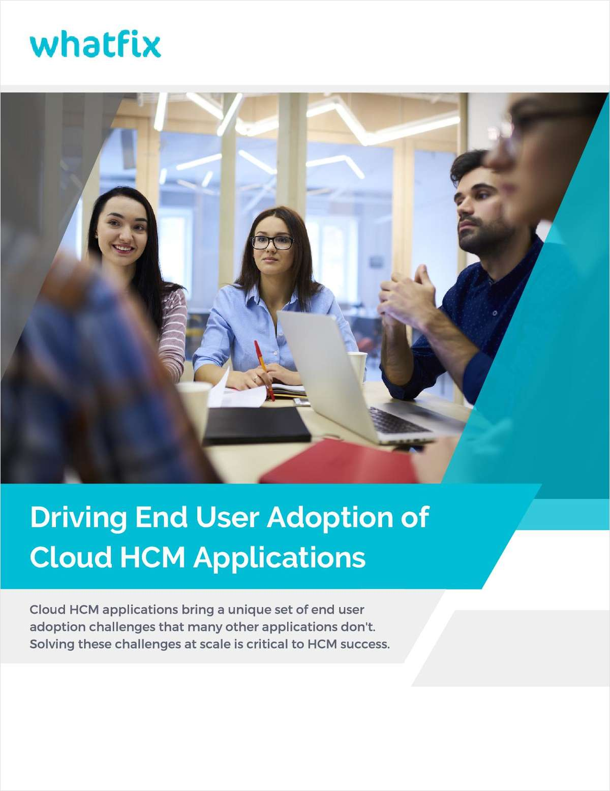 Driving End User Adoption of Cloud HCM Applications