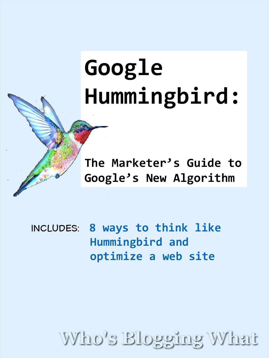Google Hummingbird - The Marketer's Guide