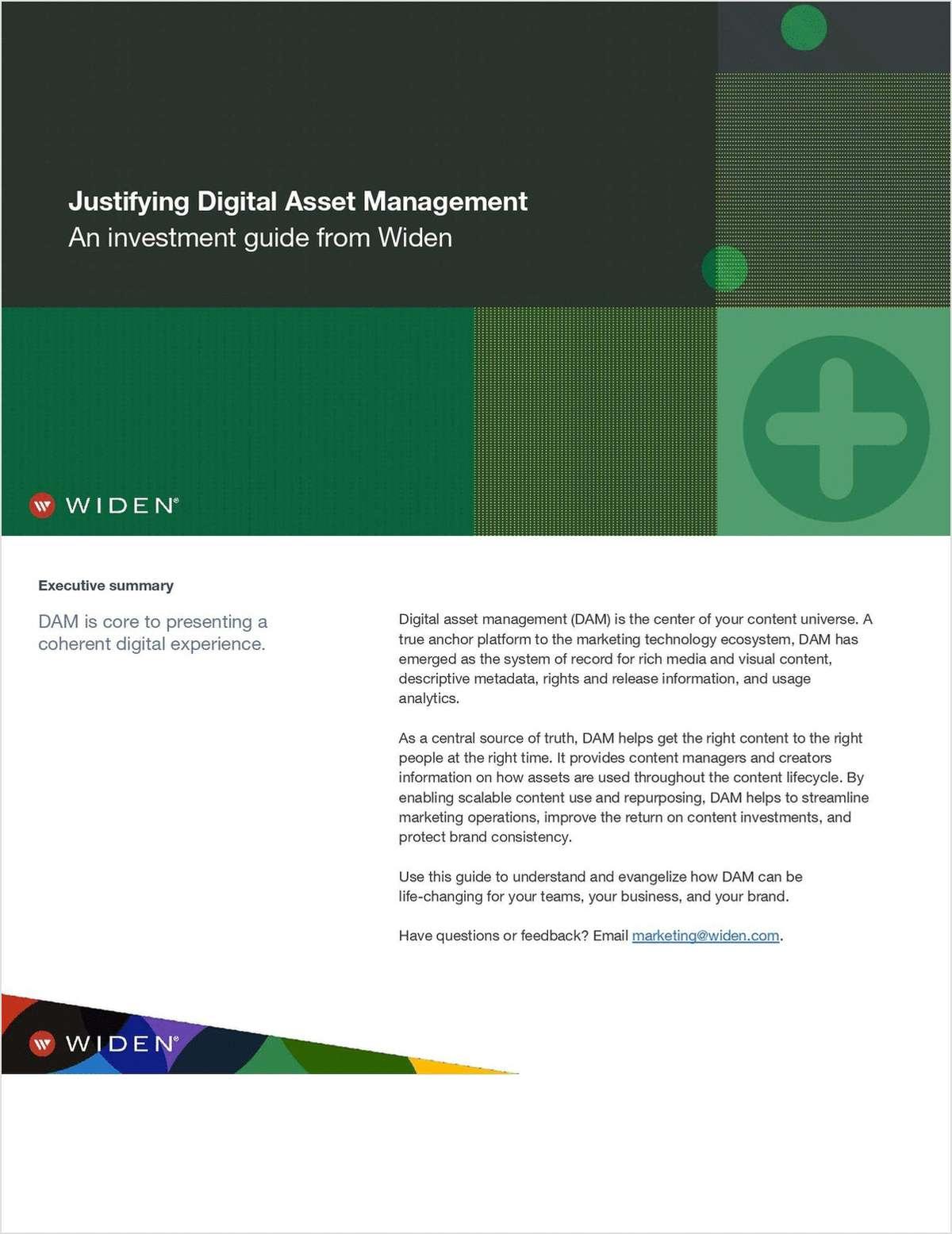Justifying Digital Asset Management