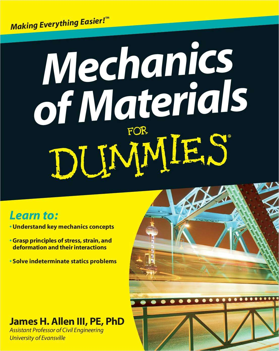 Mechanics of Materials For Dummies -- Free Sample Chapter