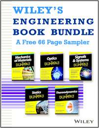 Wiley's Engineering for Dummies Book Bundle -- A Free 66 Page Sampler