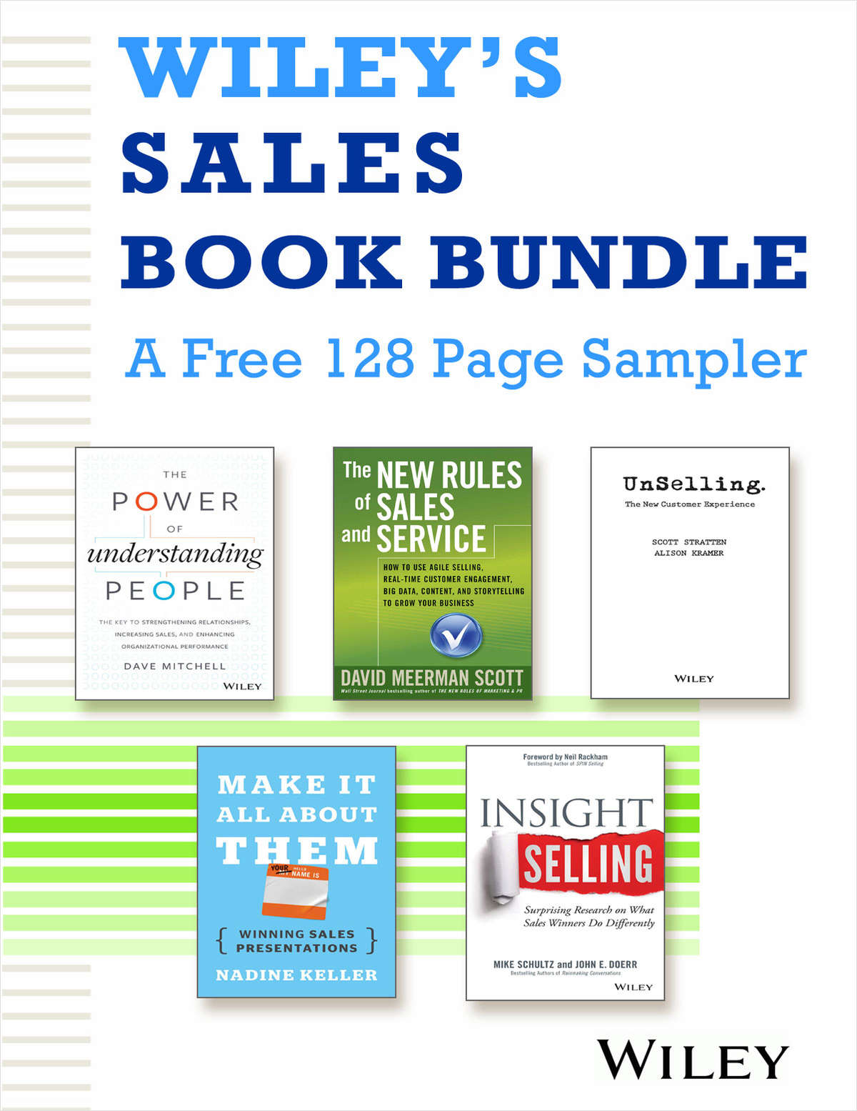 Wiley's Sales Book Bundle - A FREE 128 Page Sampler