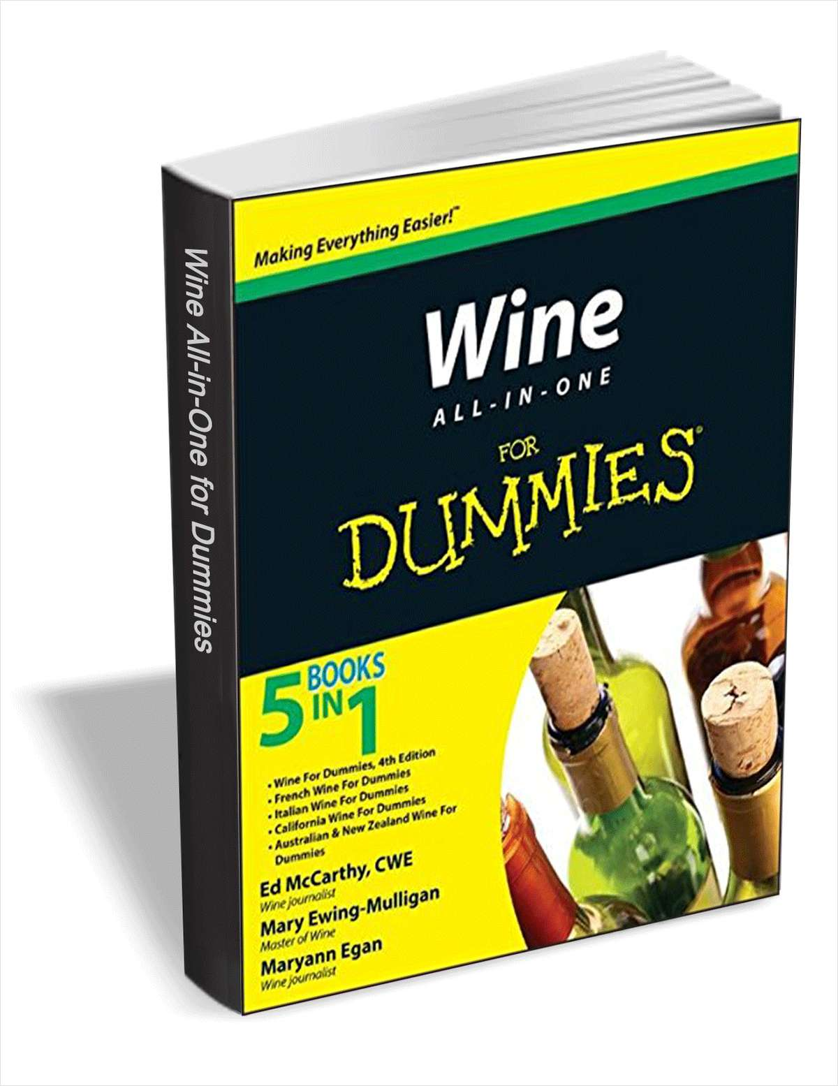 Wine All-In-One For Dummies ($16 Value) FREE For a Limited Time