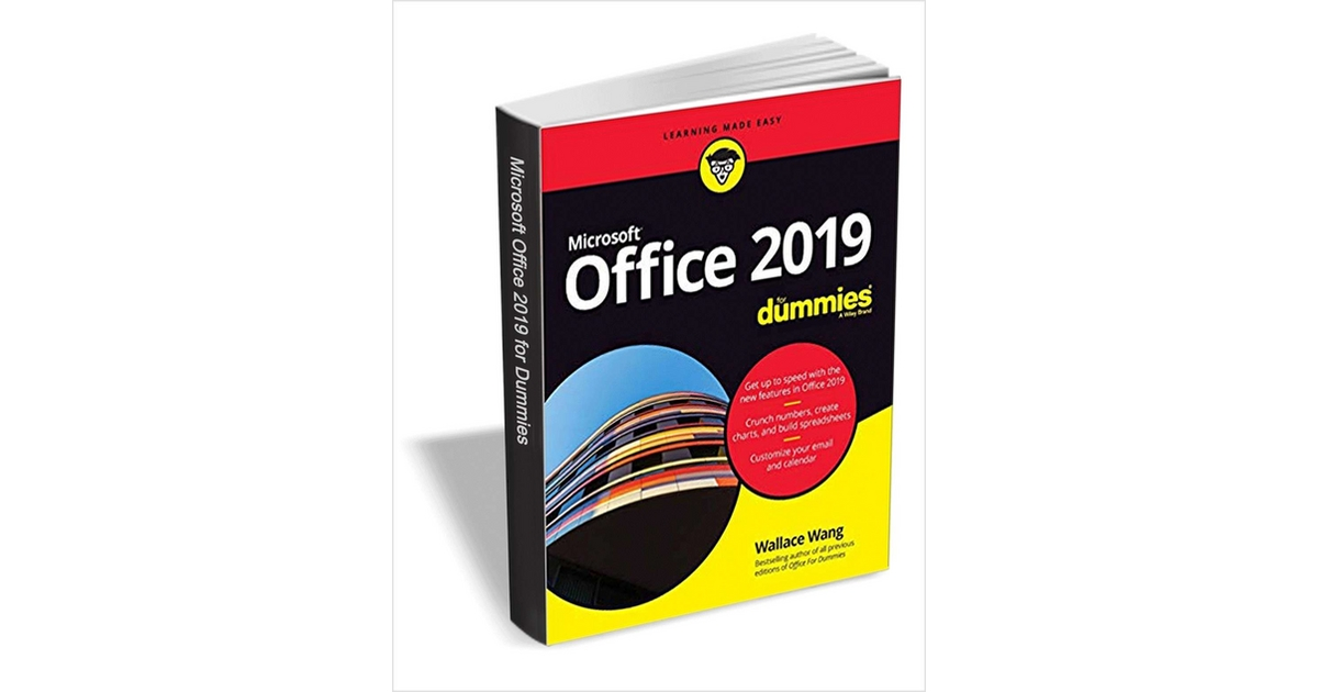 Office 2019 For Dummies ($29.99 Value) Free for a Limited Time, Free Wiley eBook