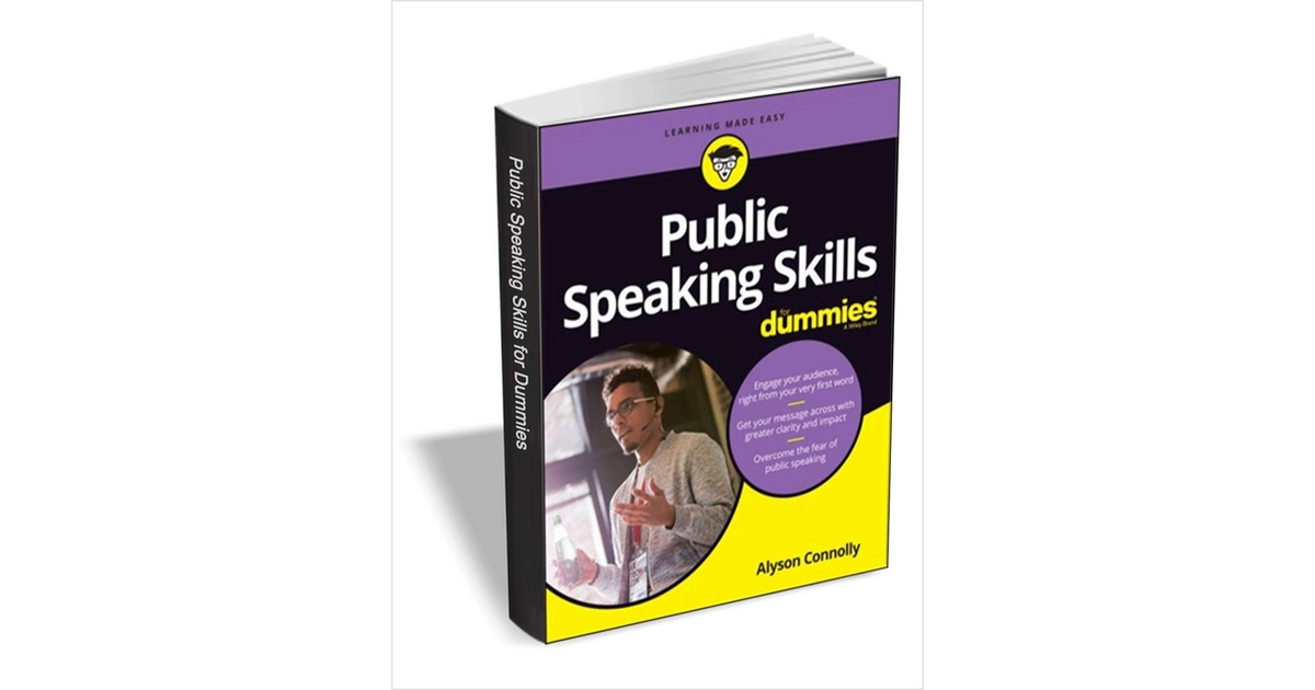 Public Speaking Skills For Dummies ($24.99 Value) FREE for a Limited Time, Free Wiley eBook