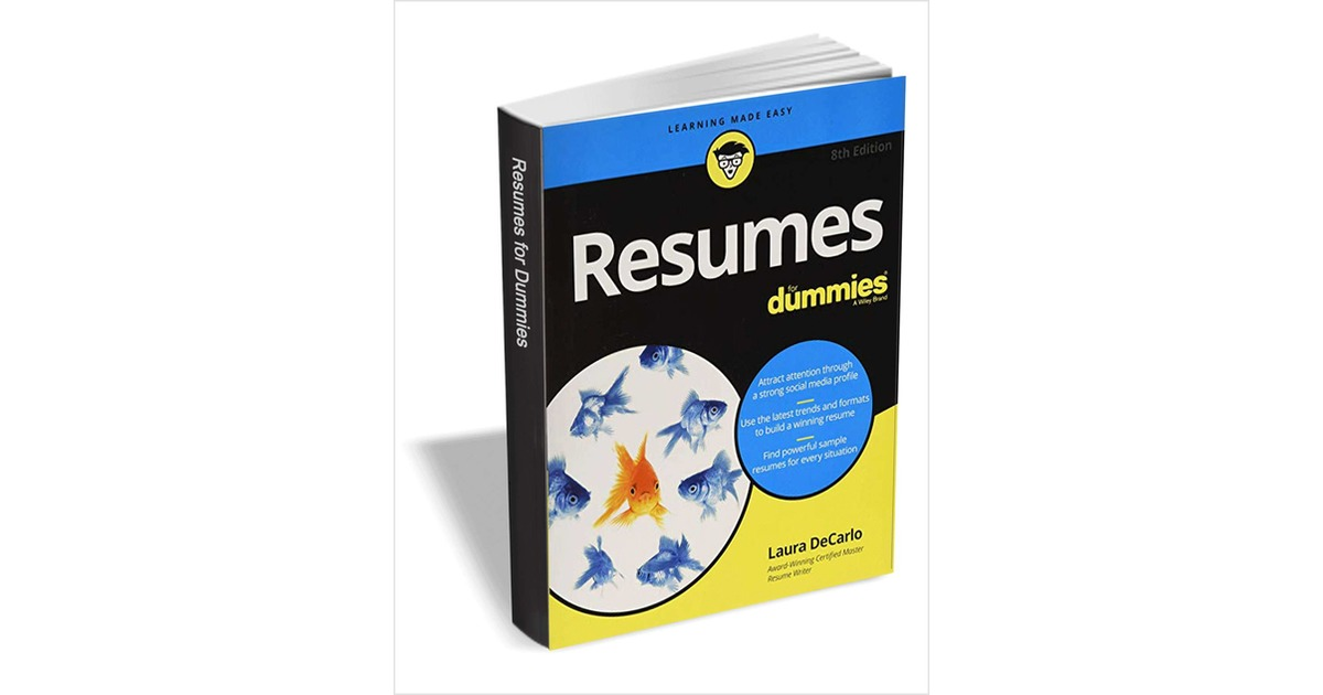 Resumes For Dummies, 8th Edition ($19.99 Value) FREE for a Limited Time, Free Wiley eBook
