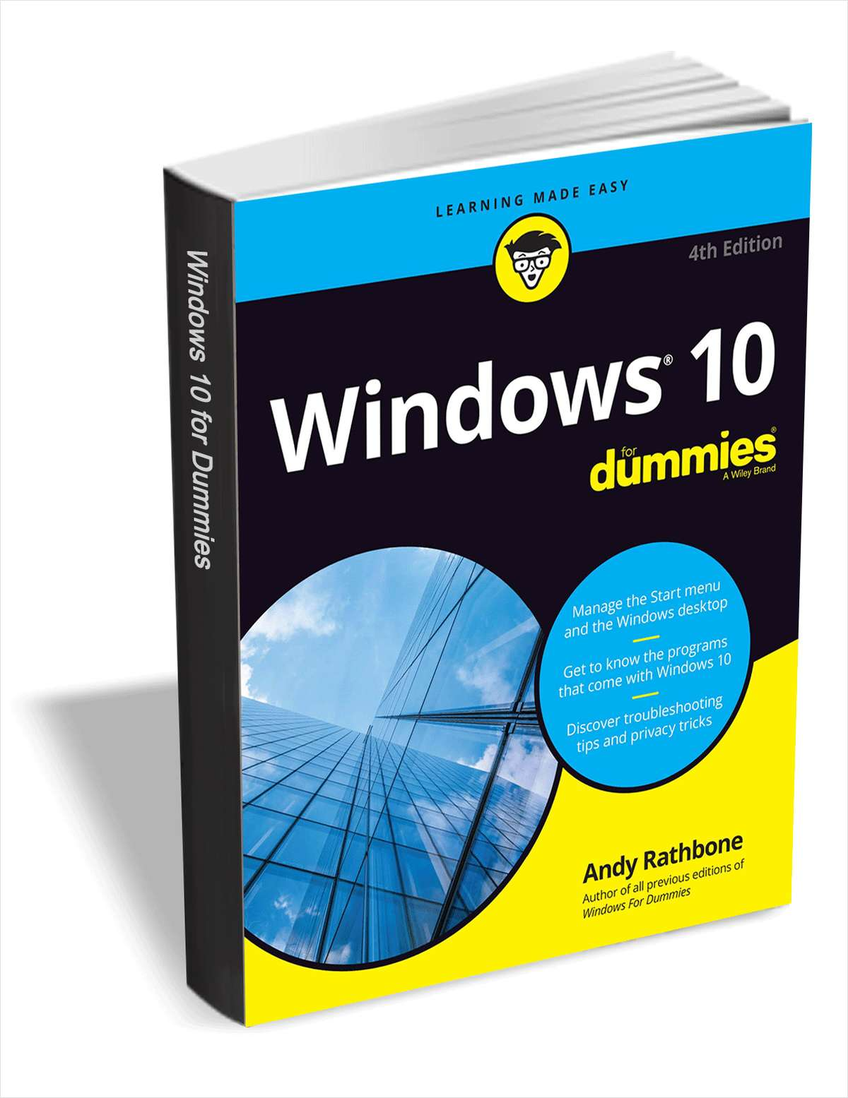 Windows 10 For Dummies, 4th Edition ($24.99 Value) FREE for a Limited Time