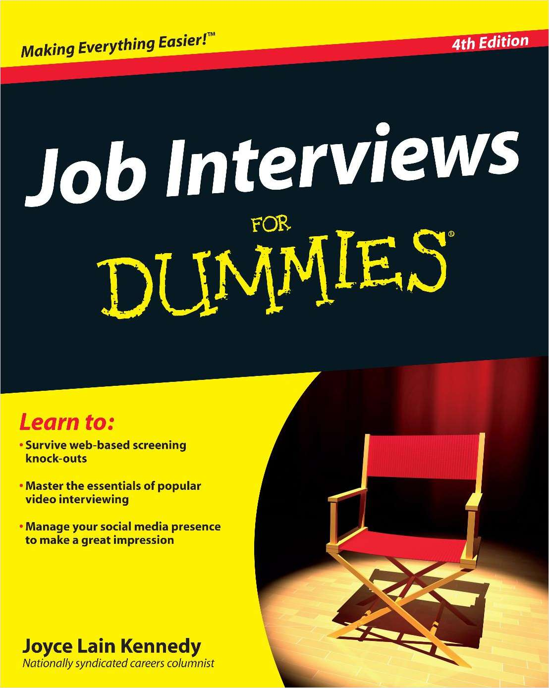 Job Interviews For Dummies, 4th Edition--Free Sample Chapter