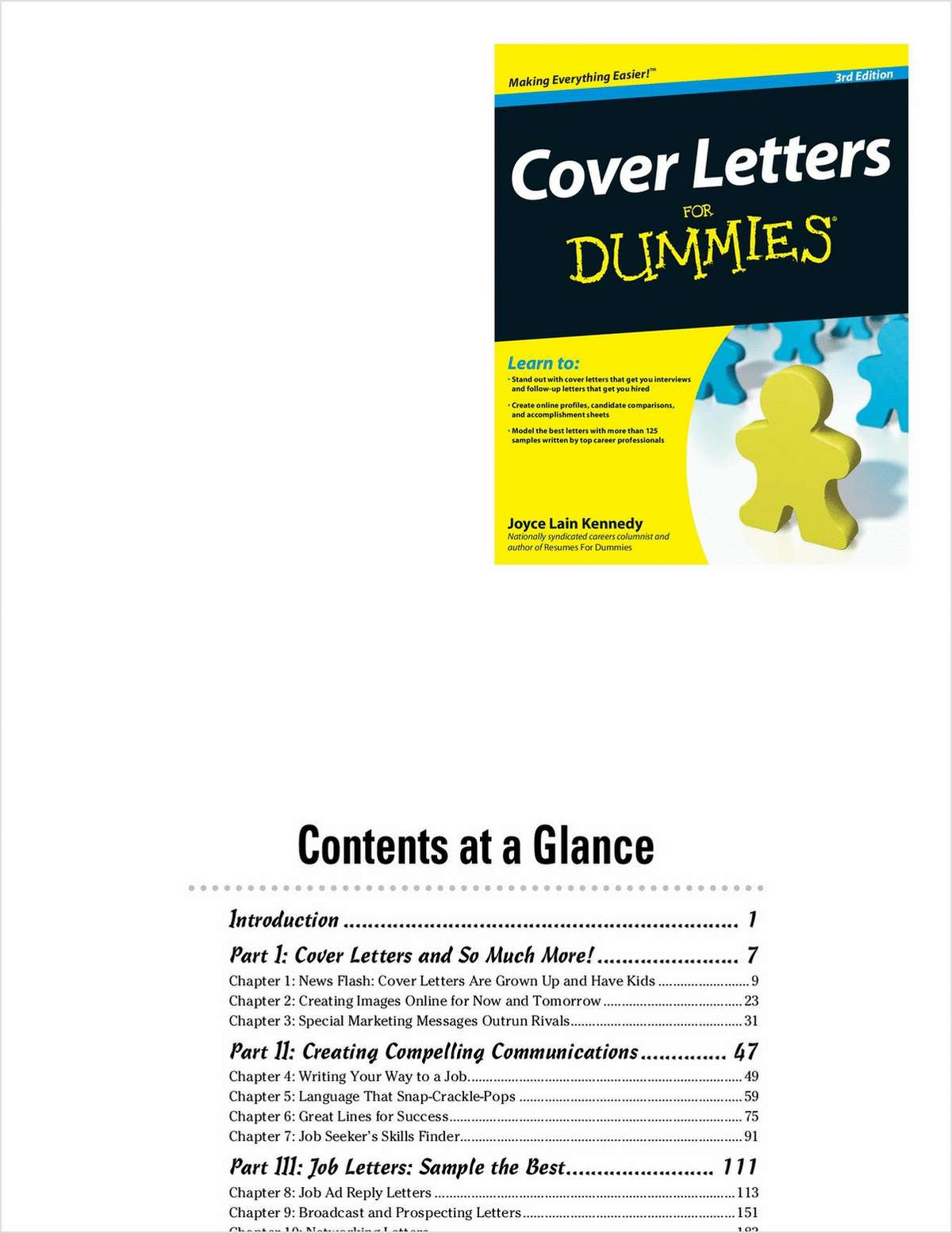 Cover Letters For Dummies, 3rd Edition--Free Sample Chapter