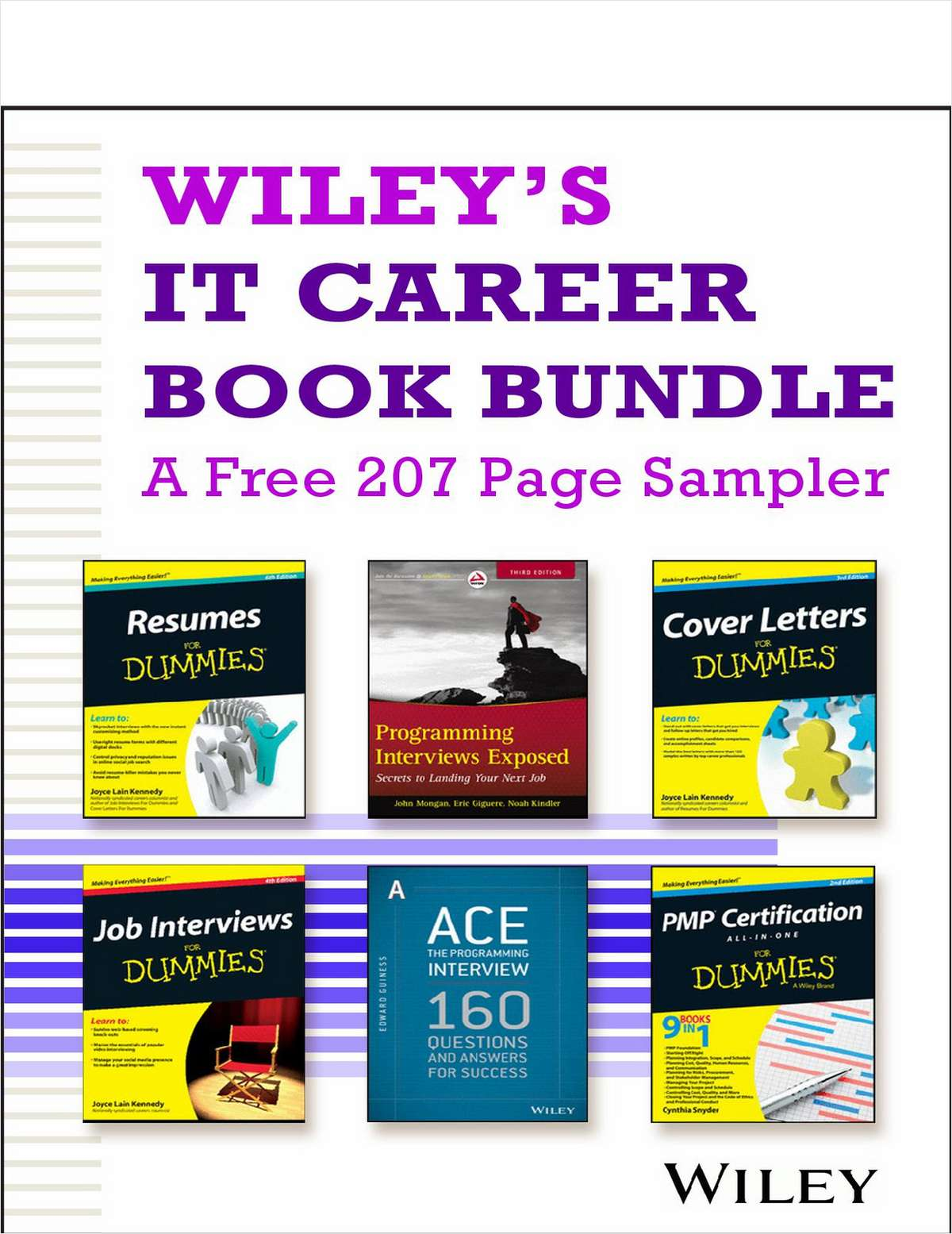 Wiley's Career Book Bundle -- A Free  207  Page Sampler