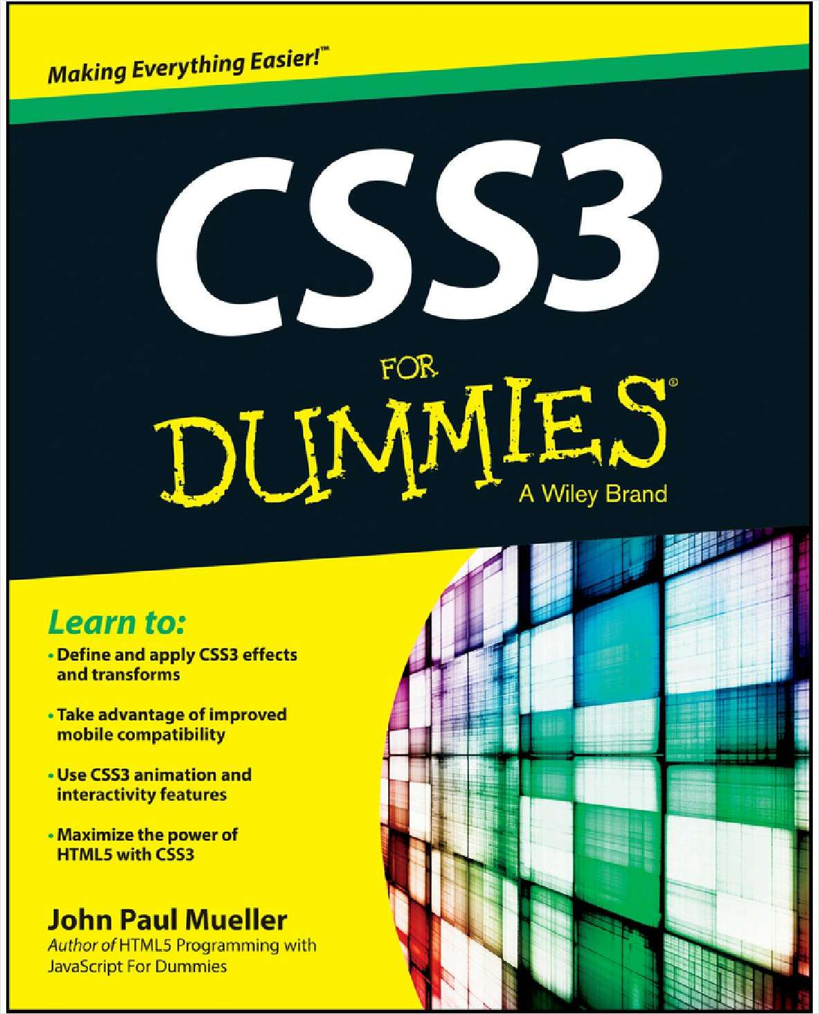 CSS3 For Dummies--Free Sample Chapter