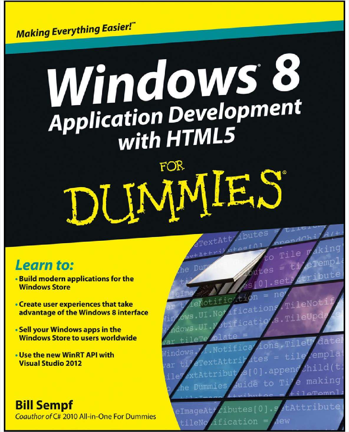 Windows 8 Application Development with HTML5 For Dummies--Free Sample Chapters
