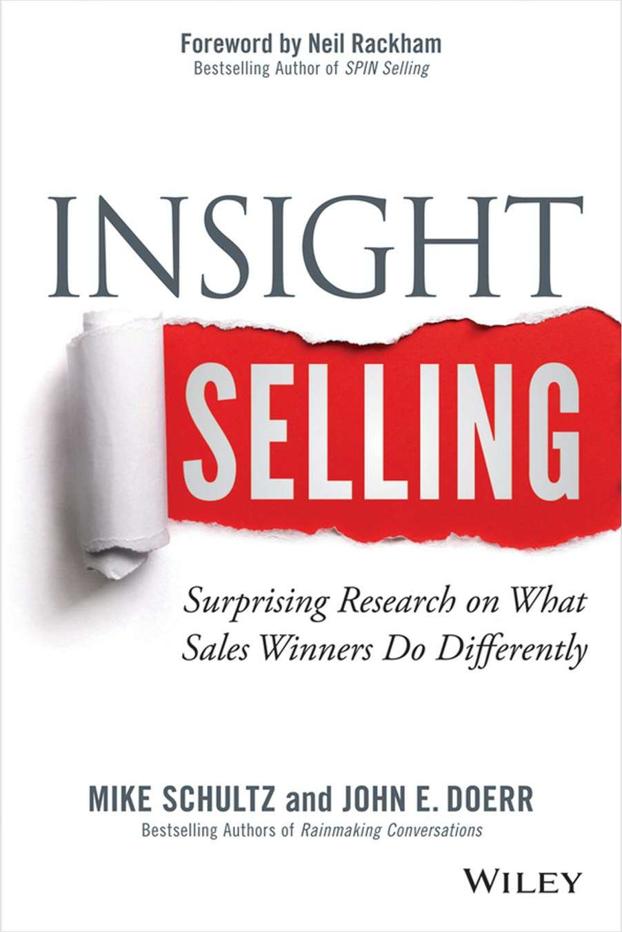 Insight Selling: Surprising Research on What Sales Winners Do Differently--Free Sample Chapter