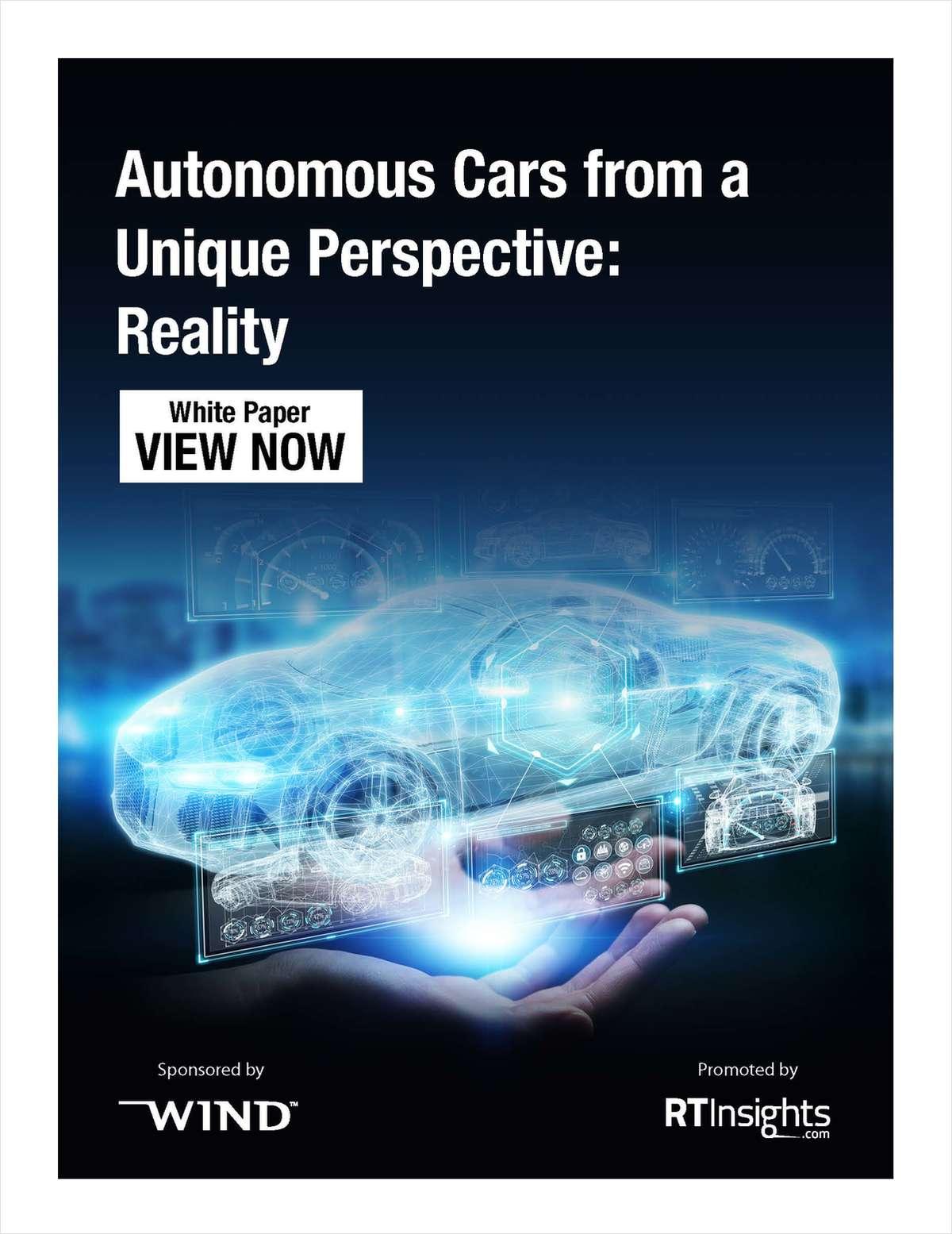 Autonomous Cars from a Unique Perspective: Reality