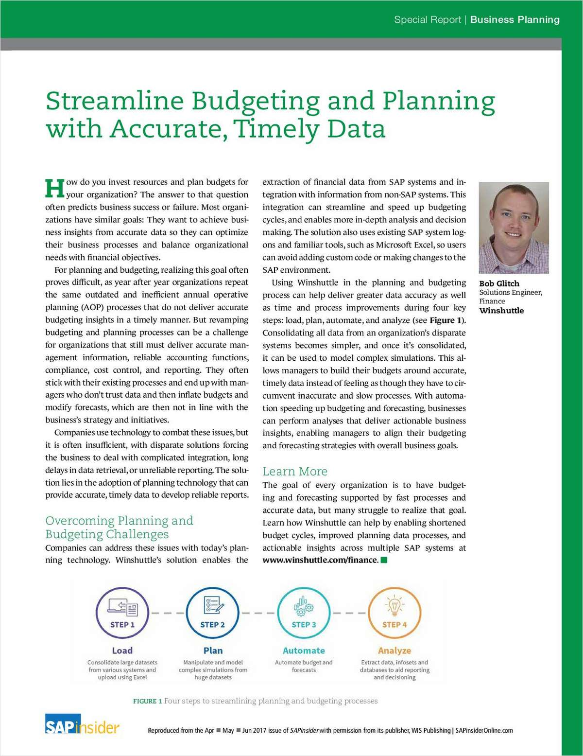 Streamline Budgeting and Planning with Accurate, Timely Data