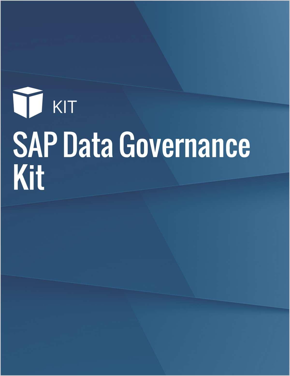 SAP Data Governance Kit