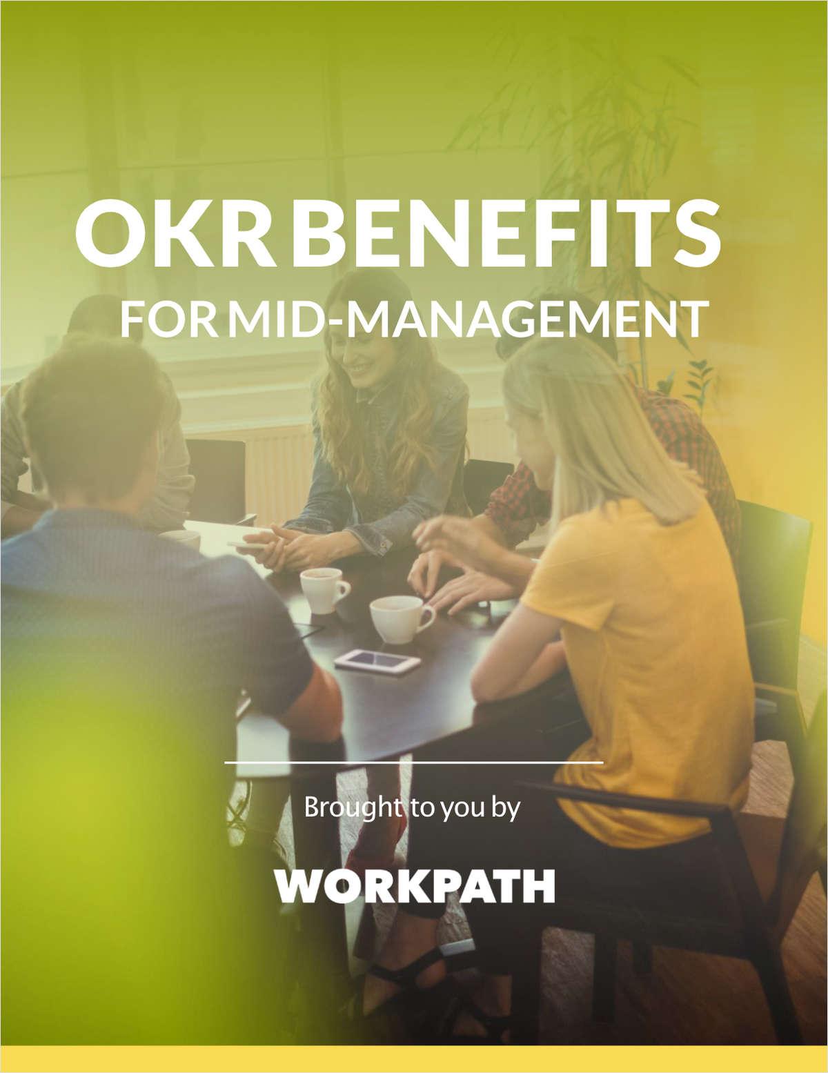 OKR Benefits for Mid-Management