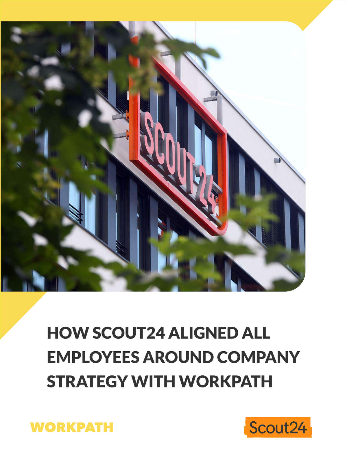 How Scout24 aligned all employees around company strategy with Workpath