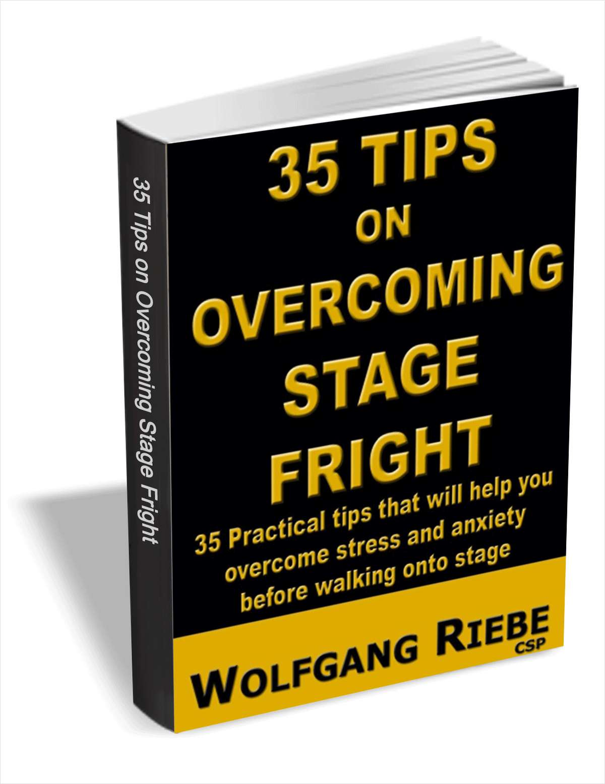 35 Tips on Overcoming Stage Fright