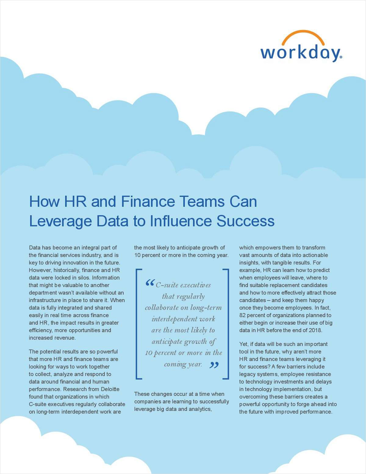 How Firm HR and Finance Teams Can Leverage Data for Mutual Success