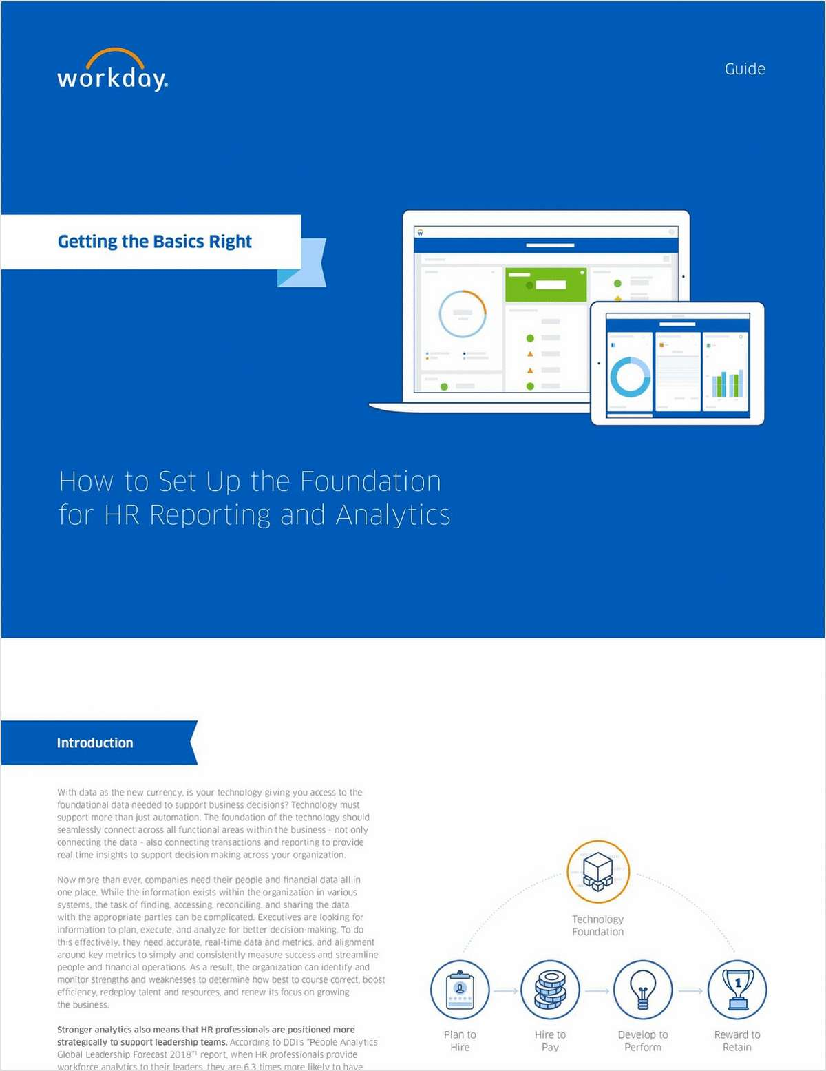 Getting the Basics Right - How to Set Up the Foundation for HR Reporting and Analytics