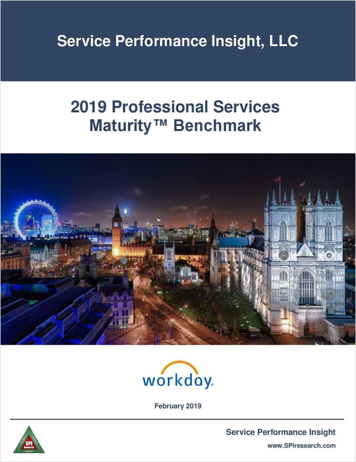 SPI Research PSA Maturity Benchmark 2019 report