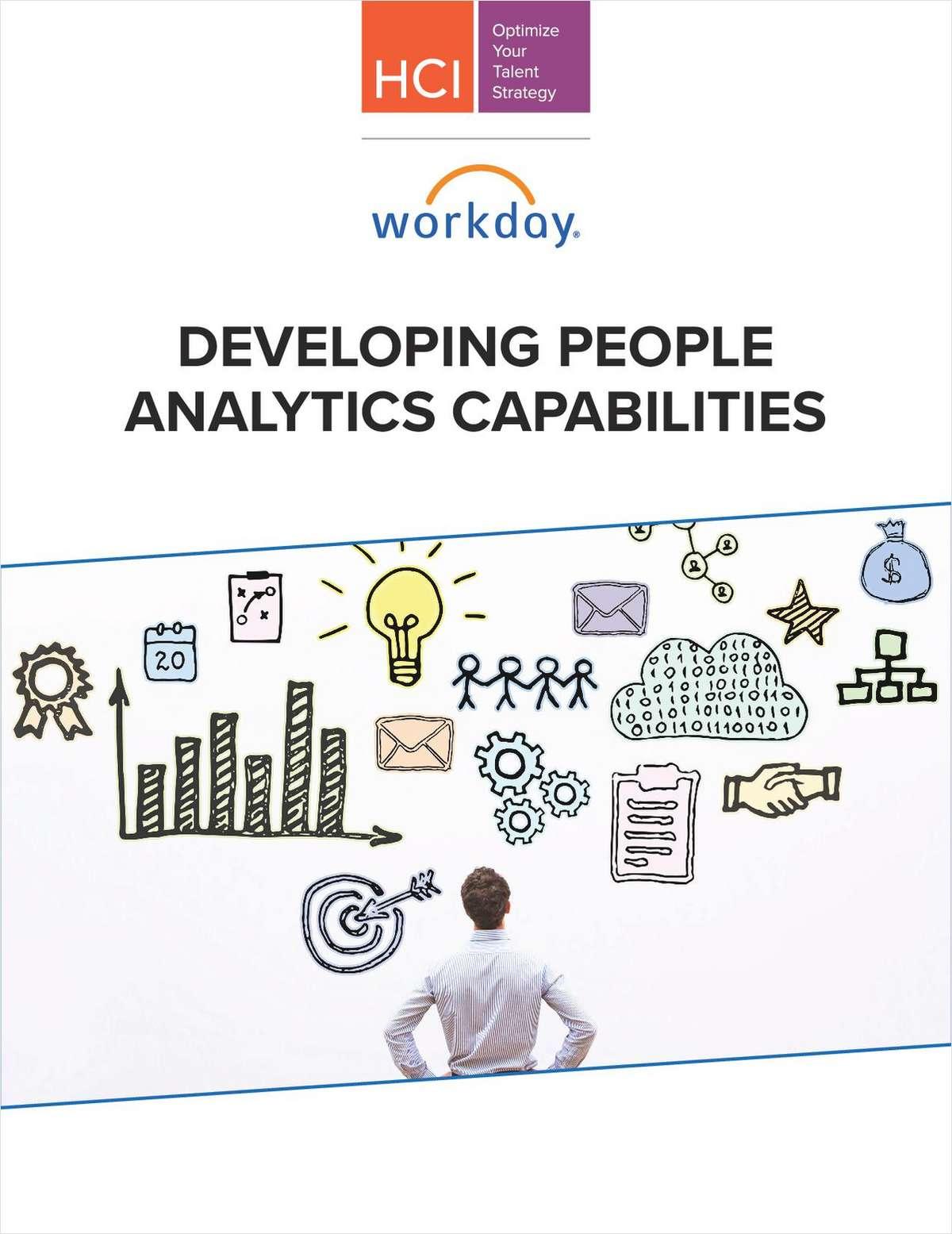 Developing People Analytics Capabilities