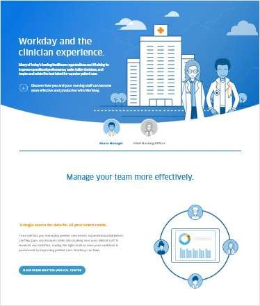 Workday and the Clinician Experience