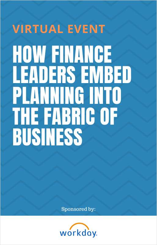 How Finance Leaders Embed Planning into the Fabric of Business
