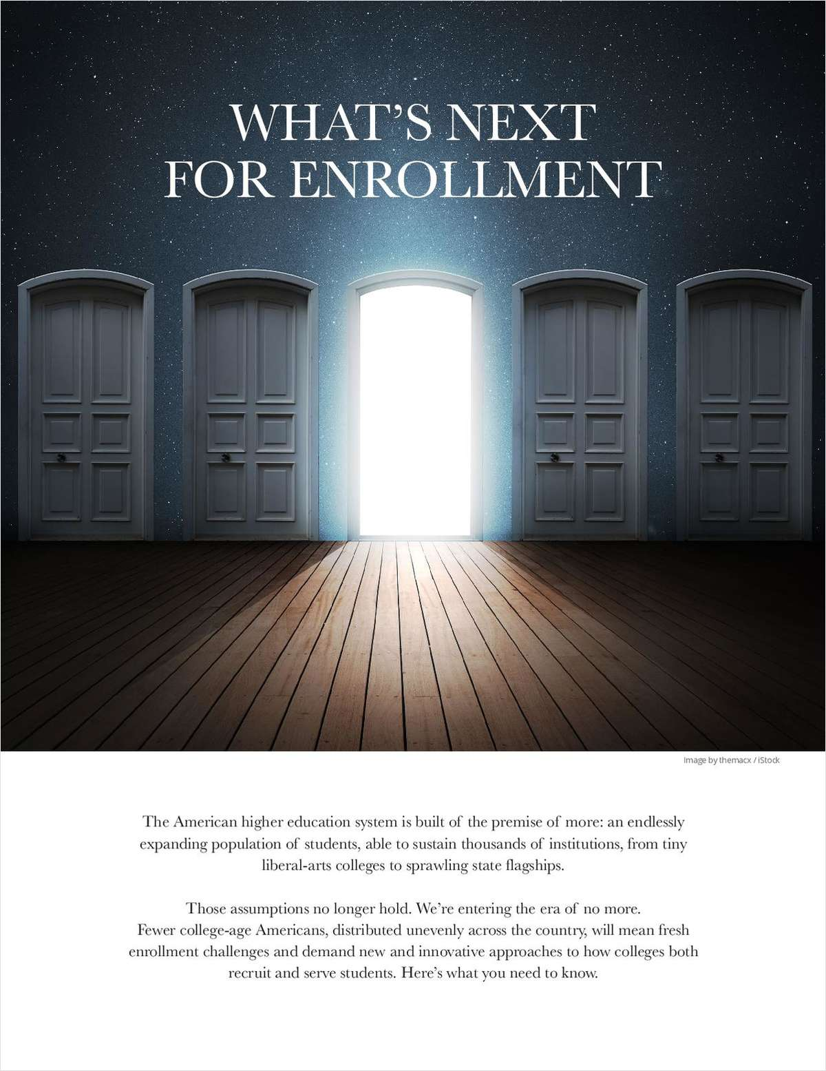 What's Next for Enrollment