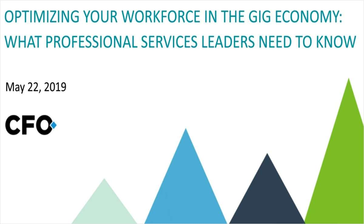 How To Optimize Professional Services in the Gig Economy