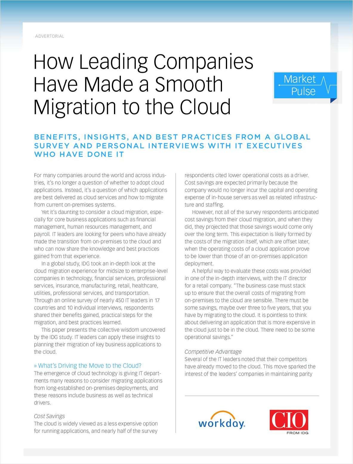La exitosa migración de empresas líderes a la tecnología cloud